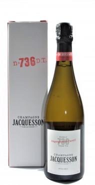 """vignette JACQUESSON """"CUVéE N° 737 D. T."""""""