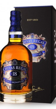 vignette CHIVAS REGAL 18 ANS