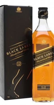 "vignette JOHNNIE WALKER ""BLACK LABEL"""