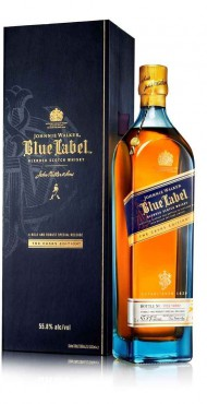 "vignette JOHNNIE WALKER ""BLUE LABEL"""