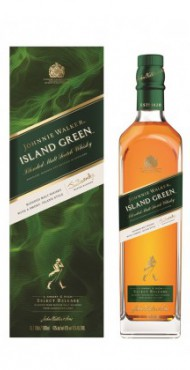 "vignette JOHNNIE WALKER ""GREEN LABEL"""