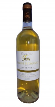 "vignette Sauternes ""Esquisse"" Domaine de l'Alliance"