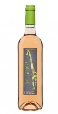 "vignette Côtes de Provence ""La Girafe Verte"" Château Barbanau"