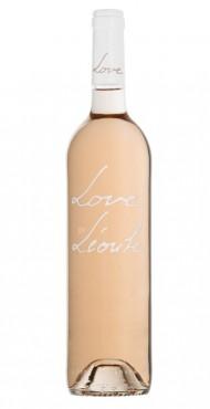 """vignette Côtes de Provence """"Love"""" by Léoube"""
