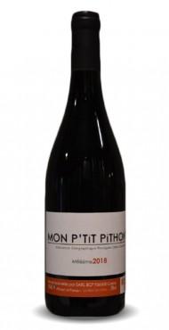 """vignette Côtes Catalanes """"Mon P'tit Pithon"""" Olivier Pithon"""