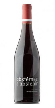 """vignette Vin de France """"Abstèmes&nbspS'&nbspAbstenir"""" Domaine Cosse & Maisonneuve"""